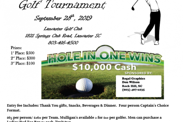 2nd Annual Golf Tournament