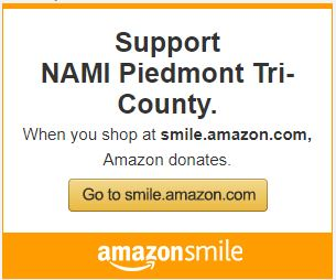 NAMI Piedmont is at Amazon Smile